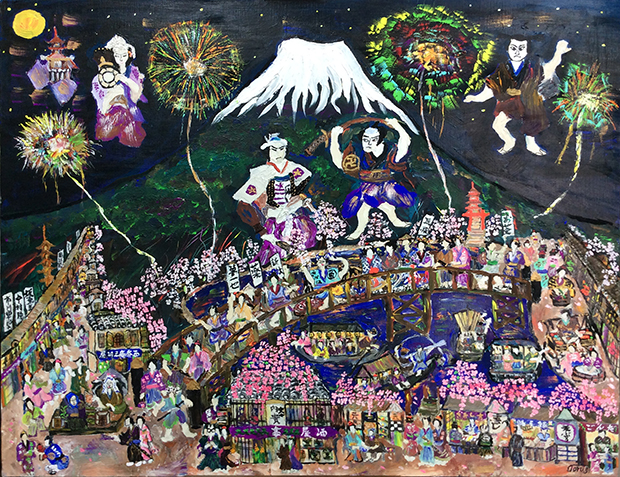 江戸時代の庶民の暮らしと富士山F30